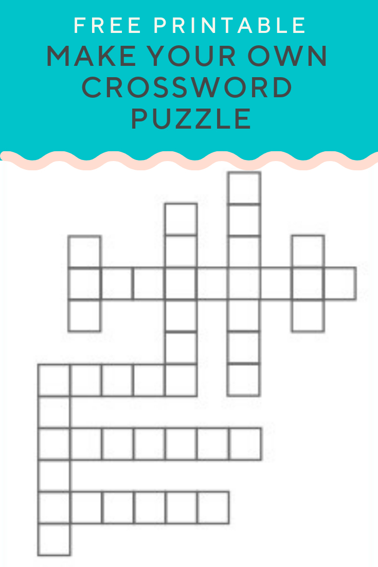 Crossword Puzzle Generator | Create And Print Fully Customizable - Create Own Crossword Puzzles Printable