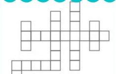Crossword Puzzle Generator | Create And Print Fully Customizable   Custom Crossword Puzzle Printable
