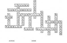 Crossword Puzzle – Kaleidoscope Garden Page 2 – Lulu Noire, Behind   Printable Golf Crossword Puzzles