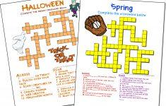 Crossword Puzzle Maker | World Famous From The Teacher's Corner   Custom Crossword Puzzle Printable