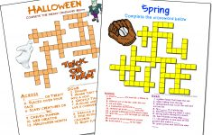 Crossword Puzzle Maker   World Famous From The Teacher's Corner   Free Crossword Puzzle Maker Printable