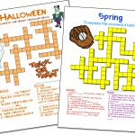 Crossword Puzzle Maker | World Famous From The Teacher's Corner   Free Printable Crossword Puzzle Template