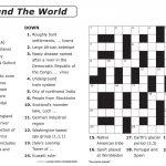 Crossword Puzzle Printable Large Print Crosswords ~ Themarketonholly   Native American Crossword Puzzle Printable