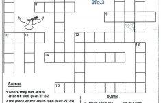 Crossword Puzzle Printable Medium Gallery Jymba Puzzles Difficulty   Printable Religious Puzzles
