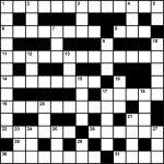 Crossword Puzzle: Sleep Medicine Themed Clues (August/september 2017   Printable Crossword Puzzles August 2017