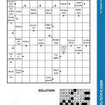 Crossword Puzzle Stock Illustrations – 6,365 Crossword Puzzle Stock   Printable Arrow Crossword Puzzles For Free