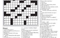 Crossword Puzzle To Test Your Vocabulary Skills   Jewish Seniors   Printable Crossword Puzzle Pdf
