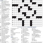 Crossword Puzzle | Whitman College – College Crossword Puzzle Printable
