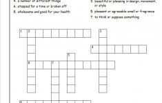 Crossword Puzzles For 5Th Graders | Activity Shelter   Printable Crossword Puzzles 5Th Grade