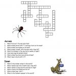 Crossword Puzzles Kids Animal   Work It   Crossword, Puzzle   Printable Crossword Puzzles About Animals