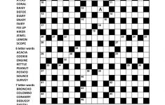 Crossword Puzzles   Printable Crossword Puzzles In Afrikaans