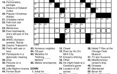 Crossword Puzzles Printable   Yahoo Image Search Results   Crossword   Free Printable Crossword Puzzle #1