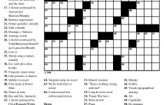 Crossword Puzzles Printable   Yahoo Image Search Results   Crossword   Printable 15X15 Crossword Puzzle