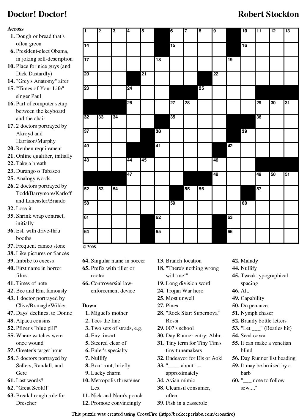 Crossword Puzzles Printable - Yahoo Image Search Results | Crossword - Printable Crossword Puzzles #1