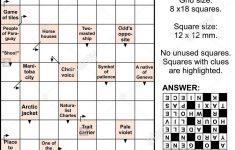 Crossword Puzzles Words Stock Photos & Crossword Puzzles Words Stock   Printable Arrow Crossword Puzzles For Free