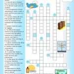 Crossword: Traveling Worksheet   Free Esl Printable Worksheets Made   Printable Intermediate Crossword Puzzles