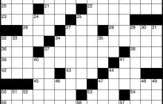 Crossword   Wikipedia   La Times Printable Crossword July 2017