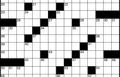 Crossword   Wikipedia   Printable Blank Crossword Grid