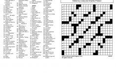 Crosswords Archives | Tribune Content Agency   Printable November Crossword Puzzles