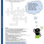 Crosswords Crossword Puzzle Worksheets For Middle School Biology Fun   Free Printable Crossword Puzzles Robotics