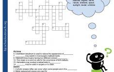 Crosswords Crossword Puzzle Worksheets For Middle School Biology Fun   Printable Worksheets Crossword Puzzles