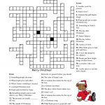 Crosswords For Kids Christmas | K5 Worksheets | Christmas Activity   Free Printable Xmas Crossword