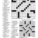 Crosswords, October 20, 2016 | Crosswords | Redandblack – Printable Commuter Crossword Puzzle