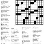 Crosswords Onlyagame Large Printable Crossword Puzzle   Printable Crossword Puzzles May 2019