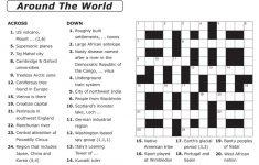 Crosswords Printable Crossword Puzzle Maker Online Free To Print   7 Printable Crosswords