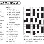 Crosswords Printable Crossword Puzzle Maker Online Free To Print   General Knowledge Crossword Puzzles Printable
