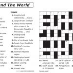 Crosswords Printable Crossword Puzzle Maker Online Free To Print   Printable Puzzles Maker