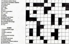 Crosswords Printable Crossword Puzzles For Middle School Puzzle   Printable Crossword Middle School