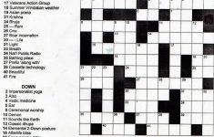 Crosswords Printable Crossword Puzzles For Middle School Puzzle   Printable Crosswords High School