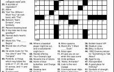 Crosswords To Print Amp Crossword Puzzles Free Line Printable Themed   Free Printable Themed Crossword Puzzles