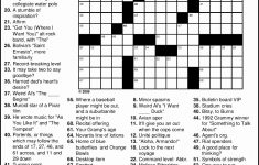 Crosswords To Print Amp Crossword Puzzles Free Line Printable Themed   Printable Themed Crossword Puzzles