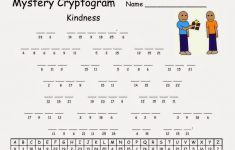 Cryptograms! | Cjrl: Kids Zone With Regard To Free Printable   Free   Printable Quiptoquip Puzzles