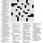 Daily Crossword Puzzle Printable – Jowo   Free Daily Printable   Daily Crossword Printable Version