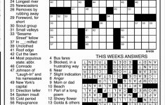 Daily Crossword Puzzle Printable – Rtrs.online   Jacqueline E Mathews Printable Crossword Puzzles