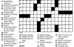 Daily Crossword Puzzle Printable – Rtrs.online   Printable Crossword Puzzle Difficult