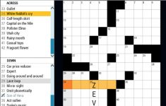 Daily Cryptic Crossword Puzzles For You To Play Now!   Printable Sheffer Crossword