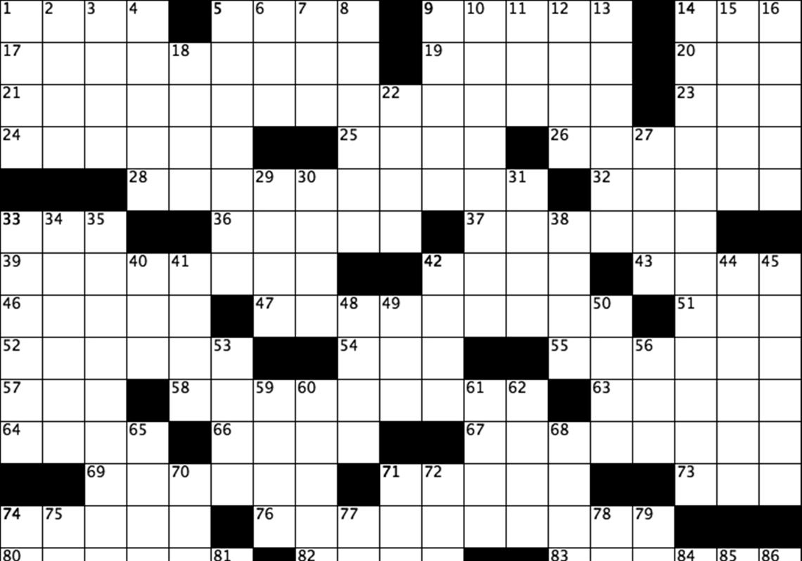 Daily Interactive Crossword Puzzle | Pittsburgh Post-Gazette - Nfl Football Crossword Puzzles Printable