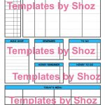 Daily Planner Pdf File Printable | Etsy   Printable Dropdown Puzzles