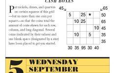 Daily Riddle Calendar | Daily Calendar Printable 2019   Printable Mensa Puzzles