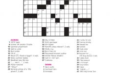 December 21: Crossword Puzzle Day – Games World Of Puzzles   Printable Crossword Puzzle Nov 2018