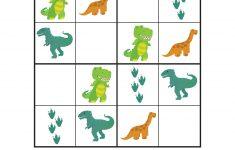 Dinosaur Sudoku Puzzles {Free Printables}   Sudoku   Sudoku Puzzles   Printable Dinosaur Puzzles