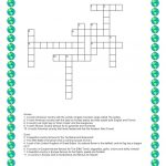 Discovering Places   Crossword Worksheet   Free Esl Printable   Printable Hockey Crossword