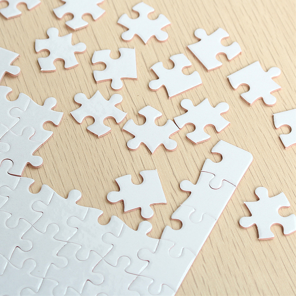 Diy A4 Blank Dye Sublimation Printable Jigsaw Puzzle For Heat Press - Printable Diy Puzzle