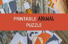 Diy Kids Animal Puzzle Printable   Children Reception Activity   Fun   Printable Animal Puzzles