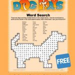Dog Word Search | Education Activities | Learning Games, Dog Words   Printable Dog Puzzle