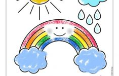 Don't Let Rainy Days Get You Down, Have A Blast With Rainbow Themed   Printable Rainbow Puzzle